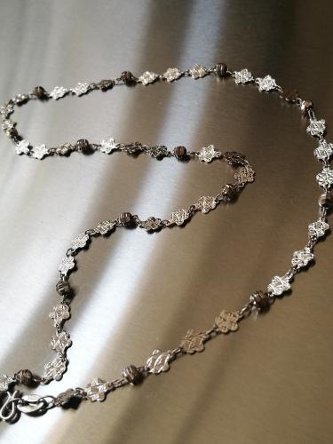 Halskette massiv Sterlingsilber 925 Gewicht ca.3,8 g H02