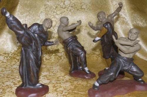 4 Figuren Set - Gong Fu II