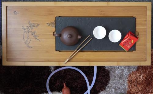 Profi Teetisch für chinesische und japanische Teezeremonie