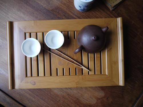 Teebrett - Teeboot für die chinesische Teezeremonie