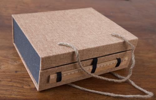 Geschenkbox Teeservice für 2 - Seladonglasur Craquelée