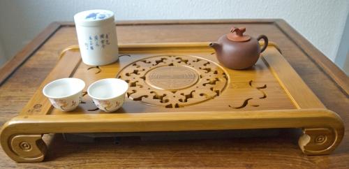 Großes Teeboot / Teeschiff