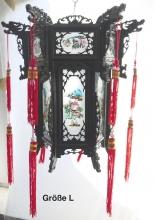 China Leuchte aus Holz Gr. XL