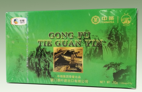 Sea Dyke Oolong Tie Guan Yin 20 Päckchen á 7 gr. (14,21¤/100g)