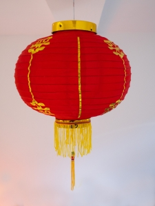 2 China Lampions 30 cm