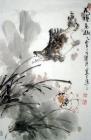 Fischfamilie / Aquarell von Wang Xiao Long