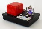QINPU Mini HiFi Verstärker mit Röhrenvorverstärker