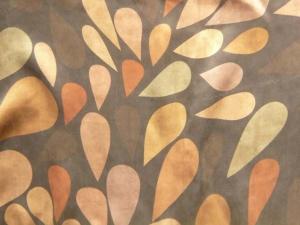 lfm Handgefärbte Bio-Seide aus Guangdong Blätter