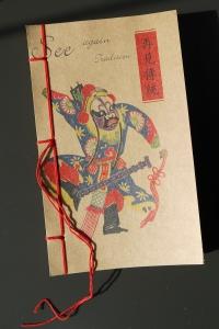 2 China Notizhefte mit traditionellen Illustrationen