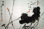 Die betörende Lotusblume Aquarell von Mo Ling (2) / China