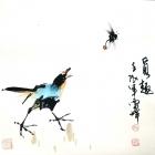 Die Abwechslung - Aquarell von Wu Yun Feng