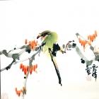 Wohlschmeckende Früchte - Aquarell von Wu Yun Feng