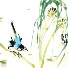 In der Natur - Aquarell von Wu Yun Feng