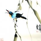 Die Arie - Aquarell von Wu Yun Feng