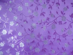 Dekostoff Blüten lila - Meterware