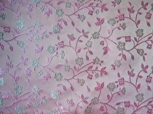 Dekostoff Blüten rosa - Meterware