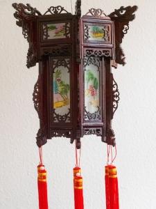 China Leuchte aus Holz Gr. S