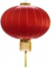 4 China Lampions 80 cm Durchmesser