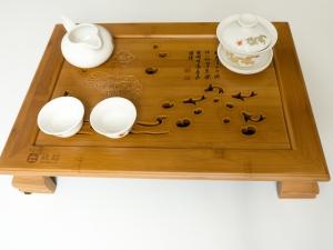 Teeboot Fische für chinesische und japanische Teezeremonie