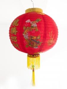 4 China Lampions Drache 40 cm